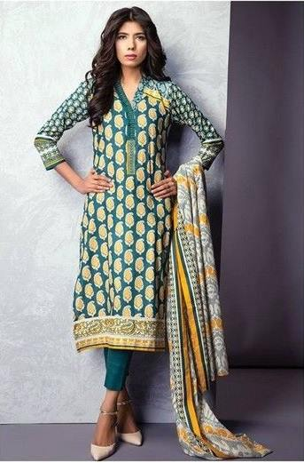 Satrangi By Bonanza Summer Lawn Spring Dresses Collection 2015-2016 (2)