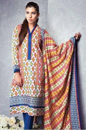 Satrangi By Bonanza Summer Lawn Spring Dresses Collection 2015-2016 (23)