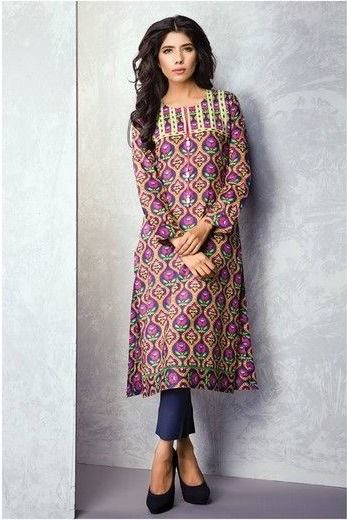 Satrangi By Bonanza Summer Lawn Spring Dresses Collection 2015-2016 (3)