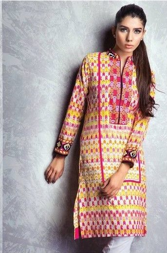 Satrangi By Bonanza Summer Lawn Spring Dresses Collection 2015-2016 (4)