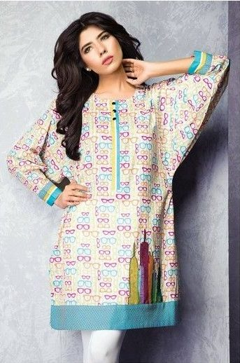 Satrangi By Bonanza Summer Lawn Spring Dresses Collection 2015-2016 (6)