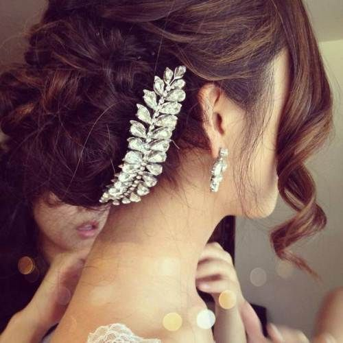 Top Amazing Bridal Wedding Hairstyles Trends & looks You Should Must Try on Your Big Day (20)
