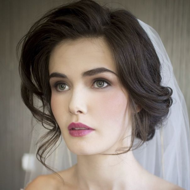 Classic Wedding Hair And Makeup : Bridal Wedding hairstyles Trends 2016-2017