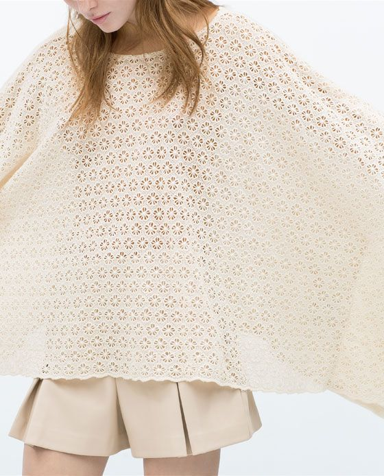 ZARA Spring-Summer Collection 2015 Latest Women Dresses, Tops, T Shirts, Skirts & Accessories (10)