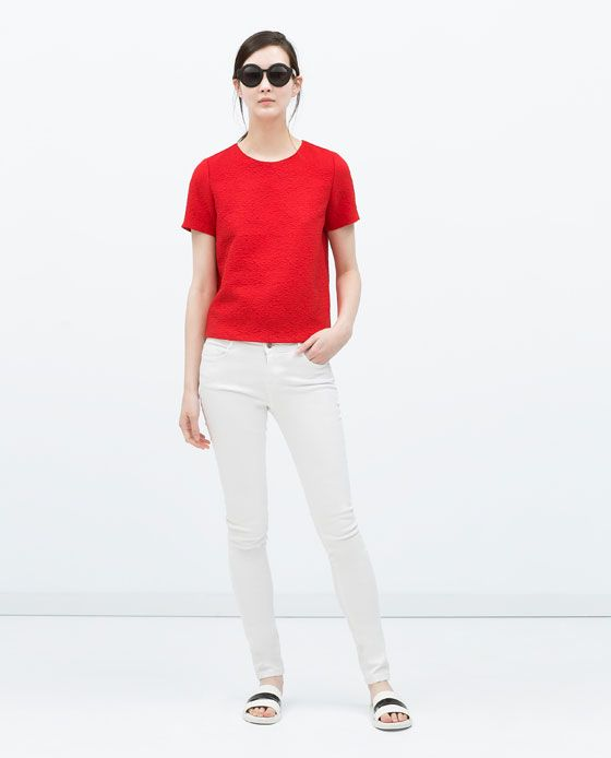 ZARA Spring-Summer Collection 2015 Latest Women Dresses, Tops, T Shirts, Skirts & Accessories (13)