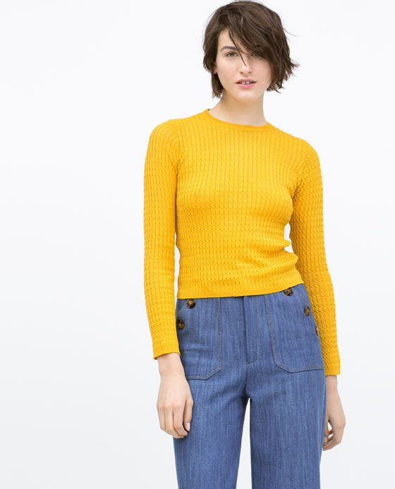 ZARA Spring-Summer Collection 2015 Latest Women Dresses, Tops, T Shirts, Skirts & Accessories (17)