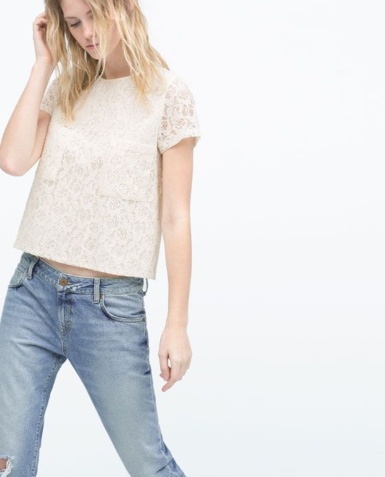 ZARA Spring-Summer Collection 2015 Latest Women Dresses, Tops, T Shirts, Skirts & Accessories (18)