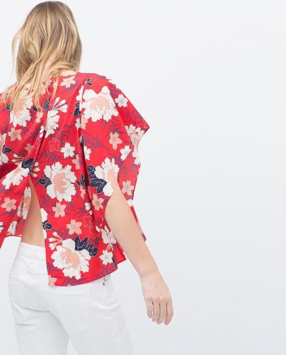 ZARA Spring-Summer Collection 2015 Latest Women Dresses, Tops, T Shirts, Skirts & Accessories (21)
