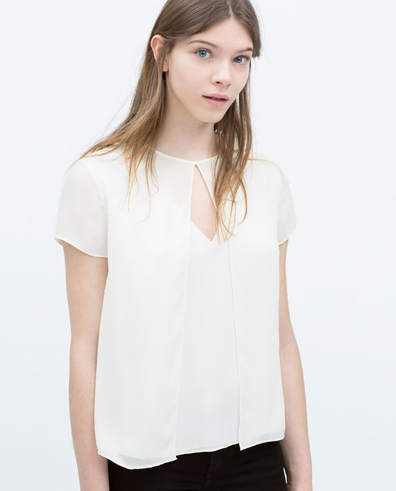 ZARA Spring-Summer Collection 2015 Latest Women Dresses, Tops, T Shirts, Skirts & Accessories (24)