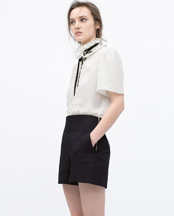 ZARA Spring-Summer Collection 2015 Latest Women Dresses, Tops, T Shirts, Skirts & Accessories (29)