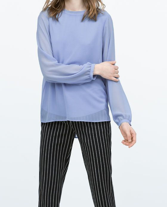ZARA Spring-Summer Collection 2015 Latest Women Dresses, Tops, T Shirts, Skirts & Accessories (3)