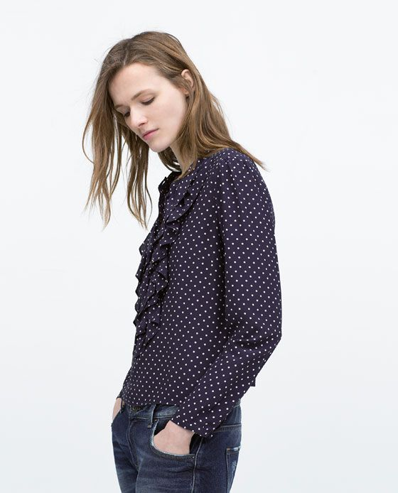 ZARA Spring-Summer Collection 2015 Latest Women Dresses, Tops, T Shirts, Skirts & Accessories (4)