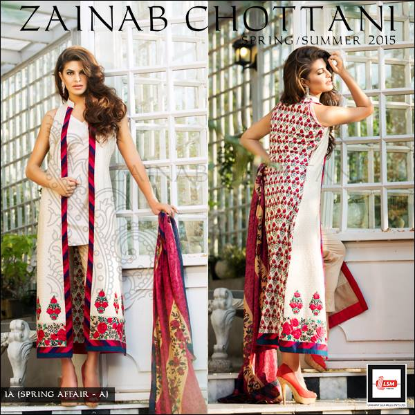 Zainab Chottani Spring Summer Lawn Dresses Collection 2015 by LSM (19)