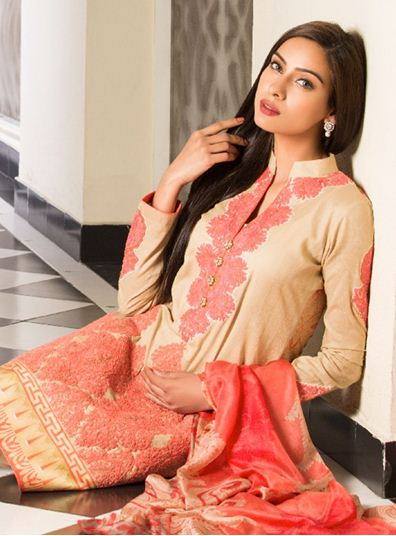 Zainab Chottani Spring Summer Lawn Dresses Collection 2015 by LSM (2)