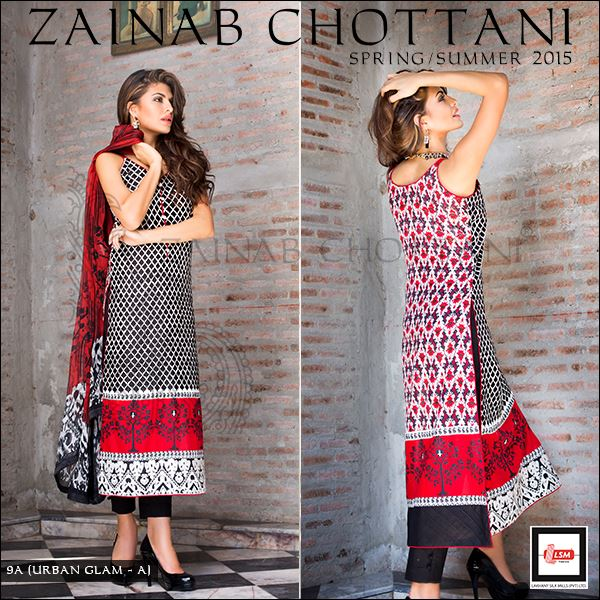 Zainab Chottani Spring Summer Lawn Dresses Collection 2015 by LSM (21)