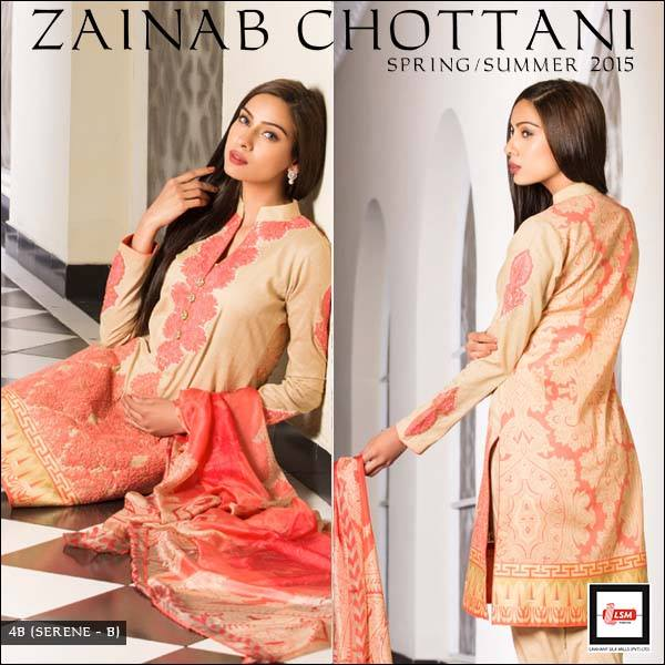 Zainab Chottani Spring Summer Lawn Dresses Collection 2015 by LSM (23)