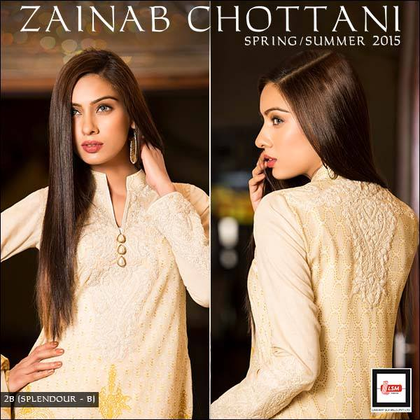 Zainab Chottani Spring Summer Lawn Dresses Collection 2015 by LSM (25)
