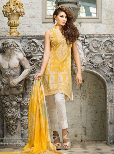 Zainab Chottani Spring Summer Lawn Dresses Collection 2015 by LSM (26)
