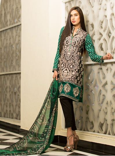 Zainab Chottani Spring Summer Lawn Dresses Collection 2015 by LSM (27)