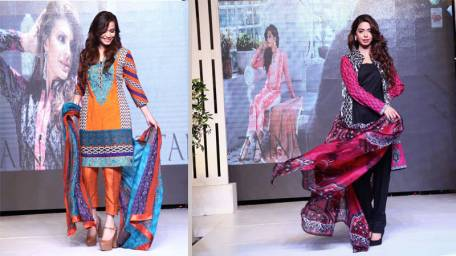 Zainab Chottani Spring Summer Lawn Dresses Collection 2015 by LSM (4)