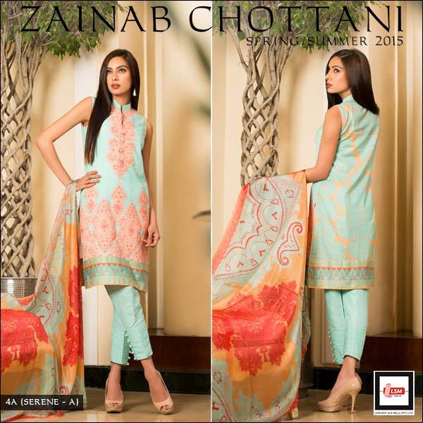Zainab Chottani Spring Summer Lawn Dresses Collection 2015 by LSM (8)