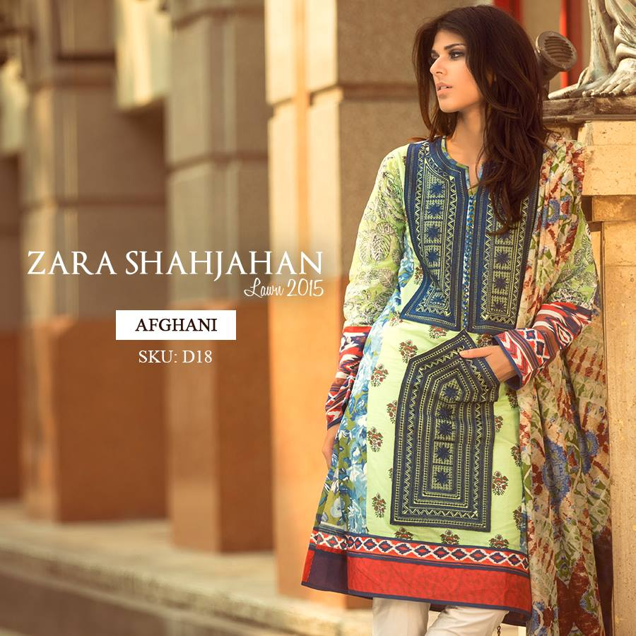 Zara Shahjahan Summer Lawn Dresses Collection 2015 for Women (1)