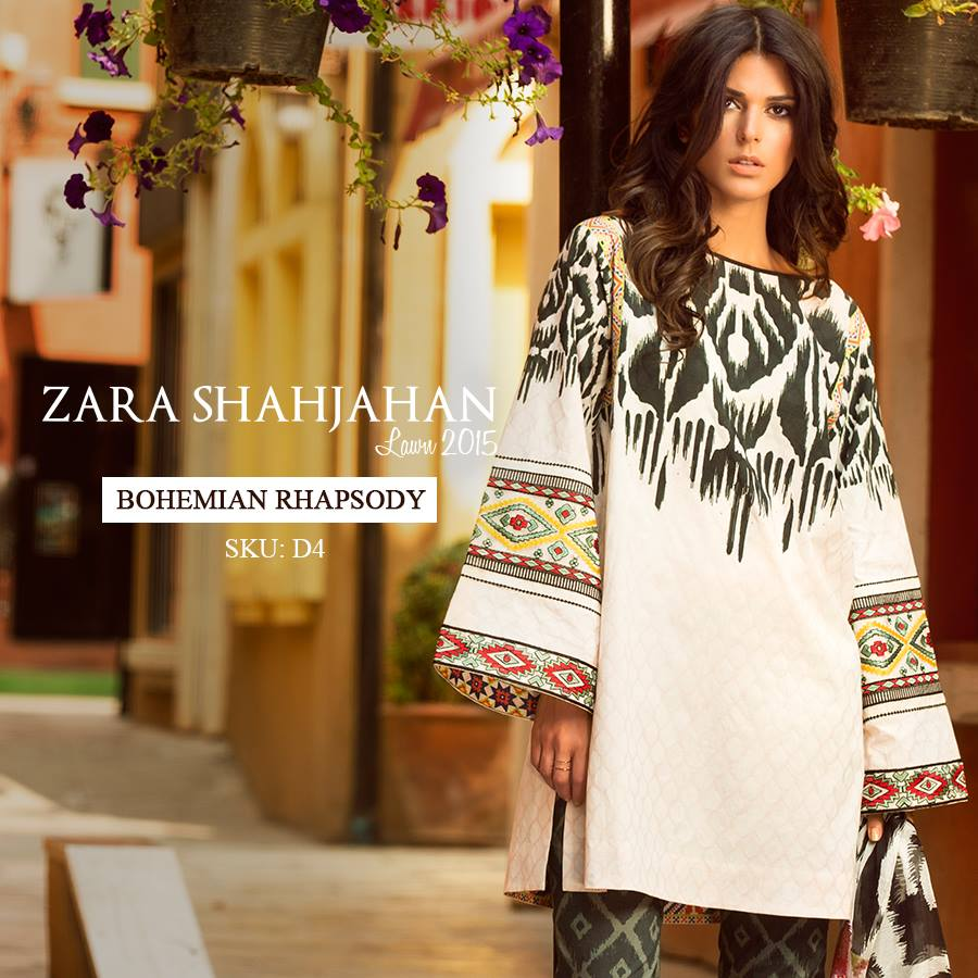 Zara Shahjahan Summer Lawn Dresses Collection 2015 for Women (21)