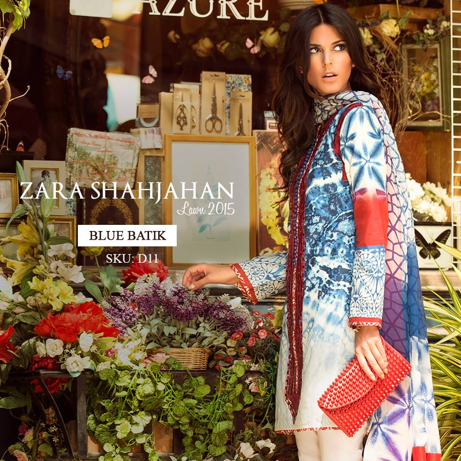 Zara Shahjahan Summer Lawn Dresses Collection 2015 for Women (22)