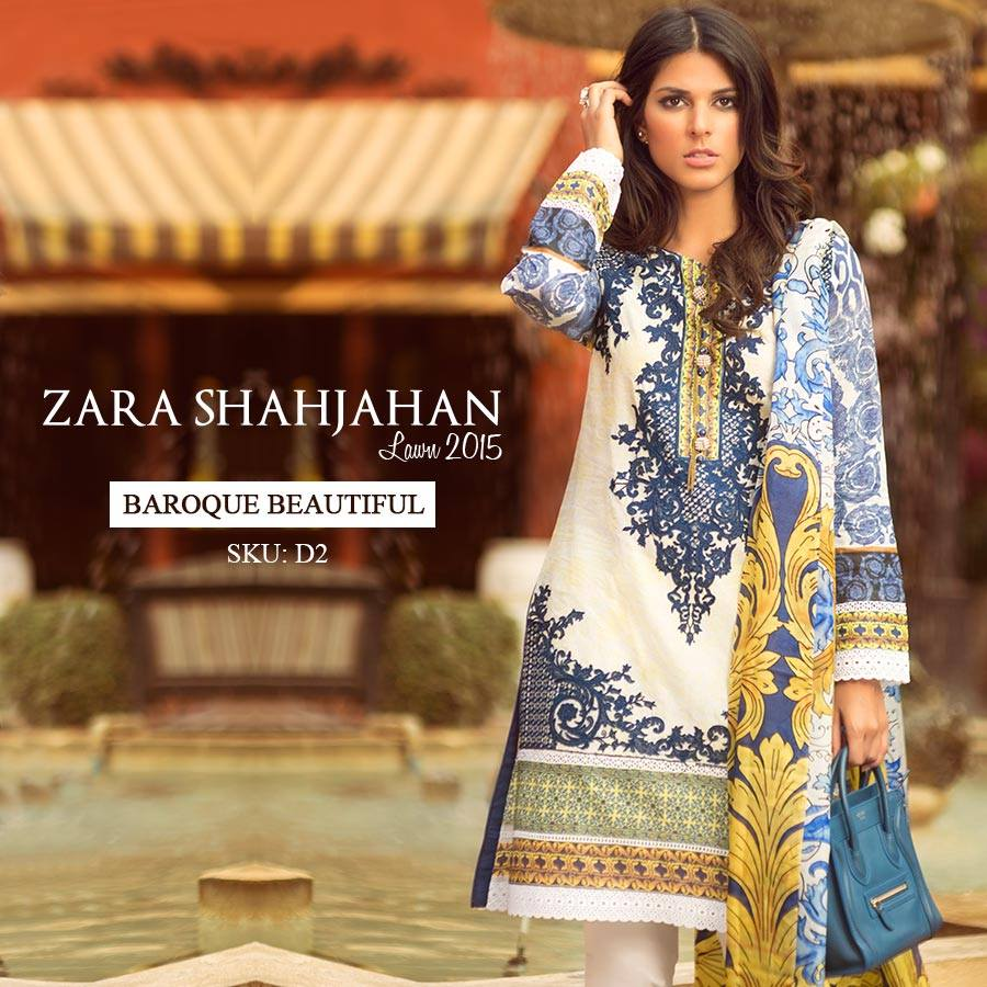 Zara Shahjahan Summer Lawn Dresses Collection 2015 for Women (24)