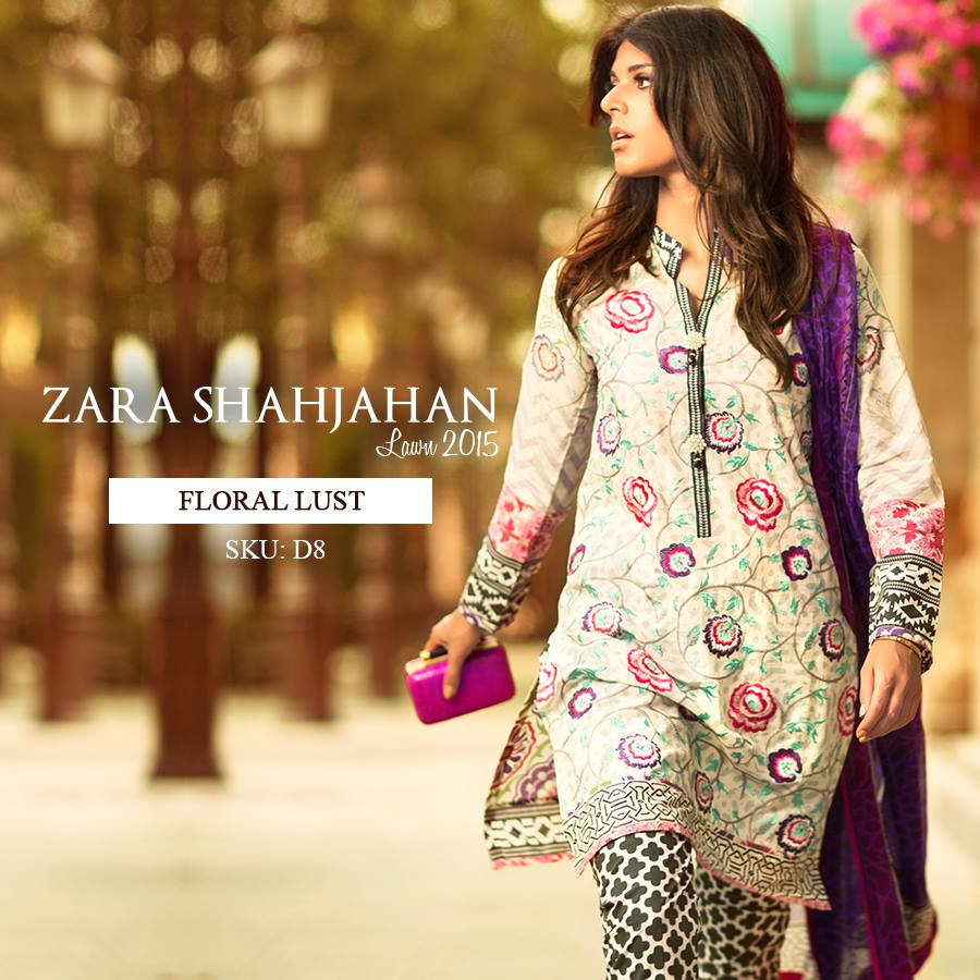 Zara Shahjahan Summer Lawn Dresses Collection 2015 for Women (25)