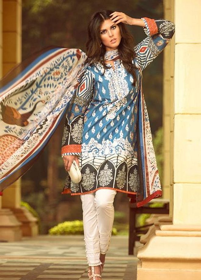 Zara Shahjahan Summer Lawn Dresses Collection 2015 for Women (4)