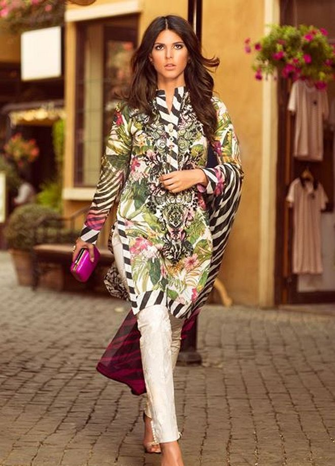 Zara Shahjahan Summer Lawn Dresses Collection 2015 for Women (9)