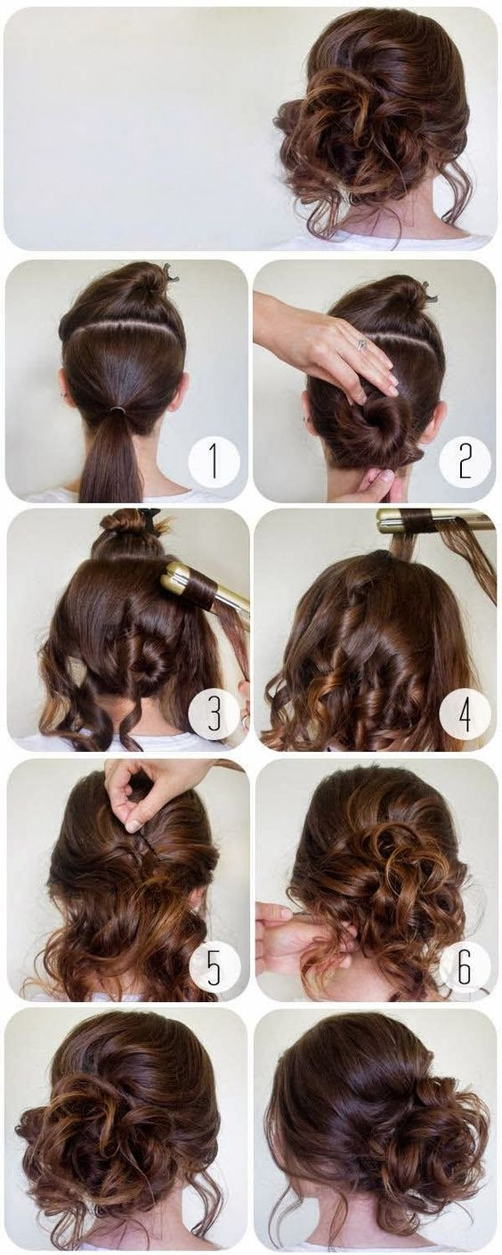Latest Party Hairstyles Tutorial Step By Step 2018 2019 Trends Looks