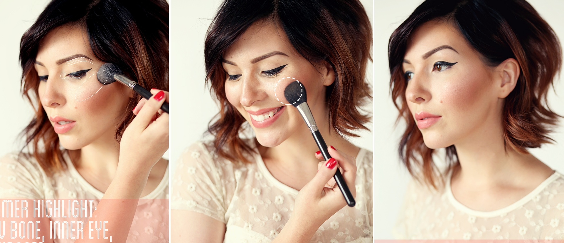 how-to-apply-blush-on-makeup-perfectly for any face shape