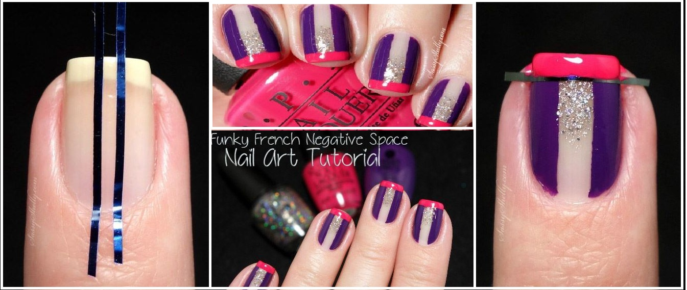 How to do a French Nail Art Tutorial at Home - Step by Step with Pictures