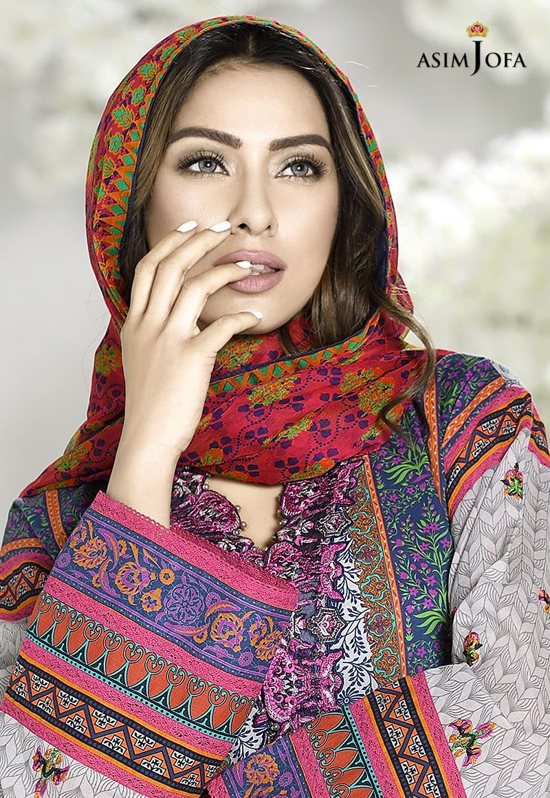 Asim Jofa Digital Lawn Summer Dresses Collection 2017-2018 for Women (3)