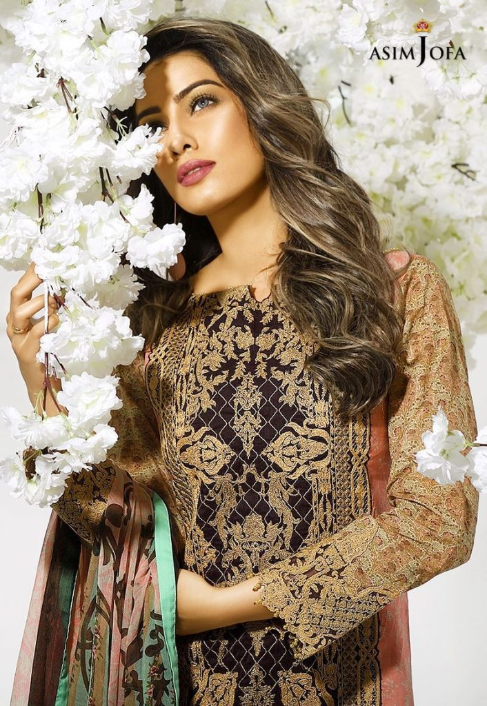 nice cheap hot new products footwear Asim Jofa Digital Lawn Summer Dresses Collection 2018 for Women ...