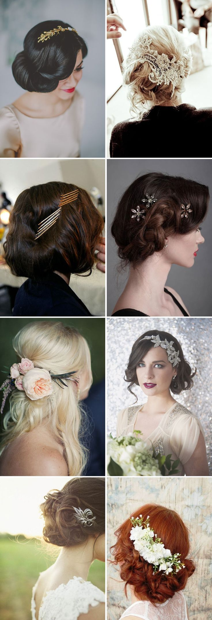 Embellished Updo trends 2015-2016