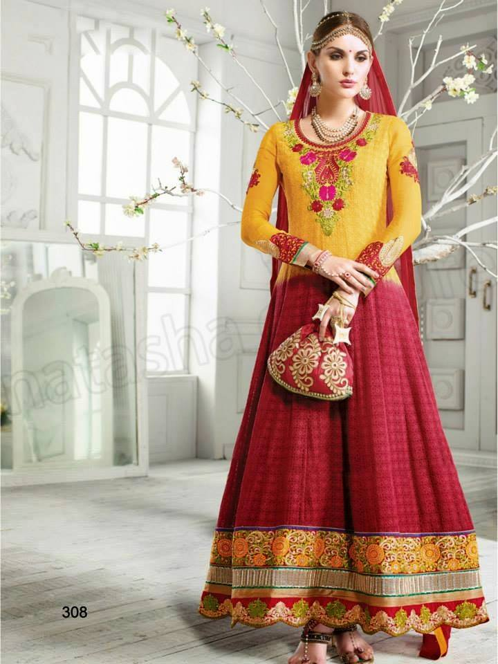 Latest Indian Party Wear Dresses Designs Collection 2018-2019 Trends