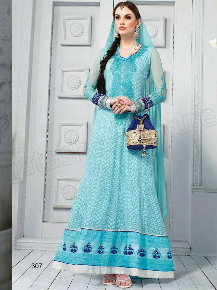 Indian Party Wears Dress Designs Collection 2015-2016 Natasha Couture (9)