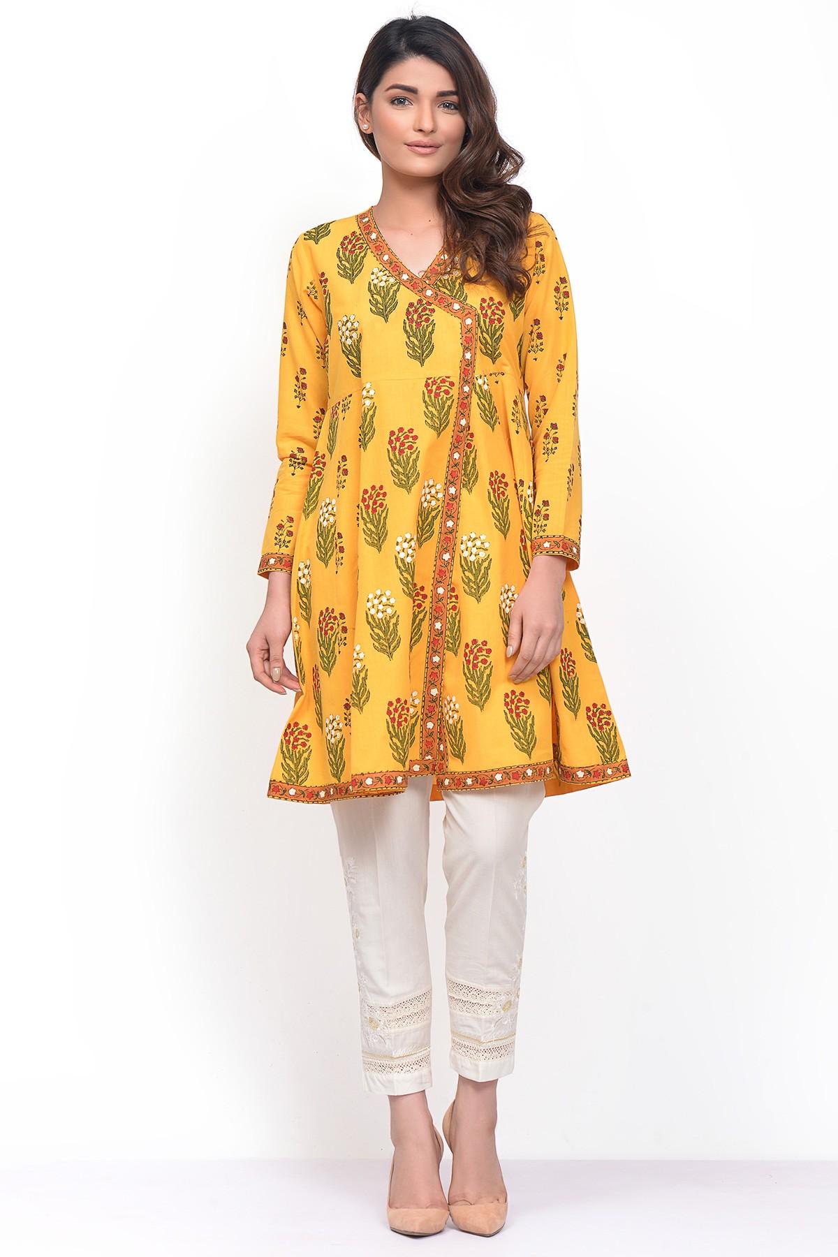 Khaadi Stylish Summer Kurtas Dresses Ready to Wear Pret Spring Collection 2017-18 (4)