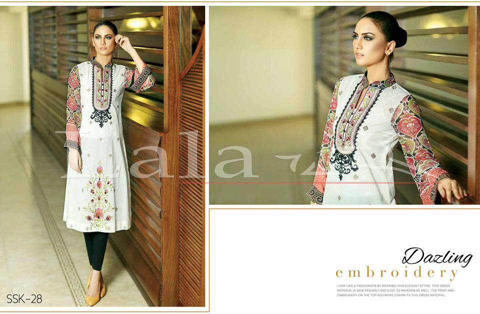 La Femme Kurtis By Lala Textiles Spring Summer Dresses Collection 2015-2016 (10)