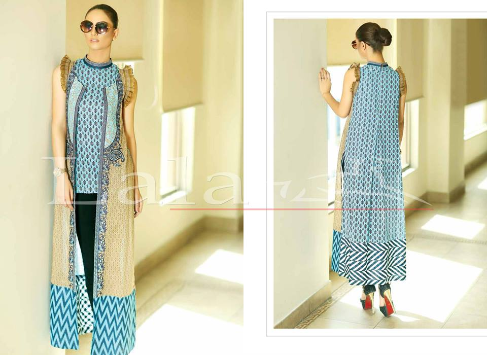 La Femme Kurtis By Lala Textiles Spring Summer Dresses Collection 2015-2016 (13)