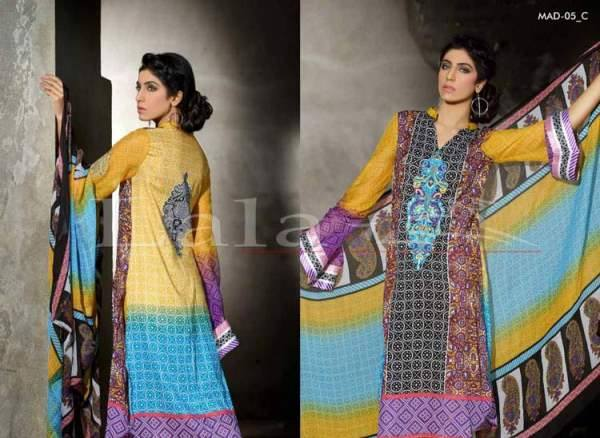 La Femme Kurtis By Lala Textiles Spring Summer Dresses Collection 2015-2016 (14)