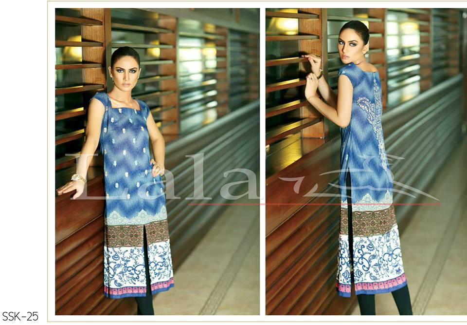 La Femme Kurtis By Lala Textiles Spring Summer Dresses Collection 2015-2016 (16)