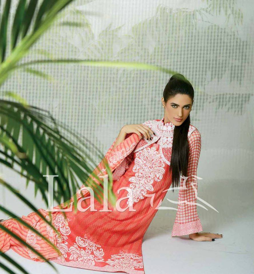 La Femme Kurtis By Lala Textiles Spring Summer Dresses Collection 2015-2016 (17)