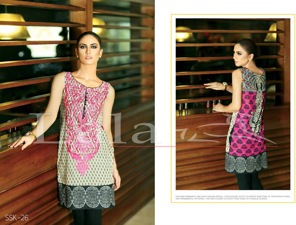 La Femme Kurtis By Lala Textiles Spring Summer Dresses Collection 2015-2016 (18)