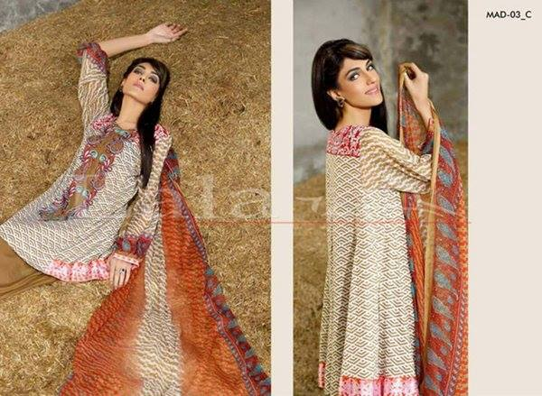 La Femme Kurtis By Lala Textiles Spring Summer Dresses Collection 2015-2016 (19)