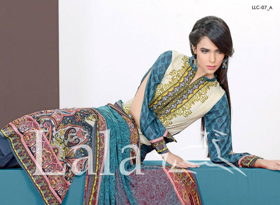La Femme Kurtis By Lala Textiles Spring Summer Dresses Collection 2015-2016 (21)