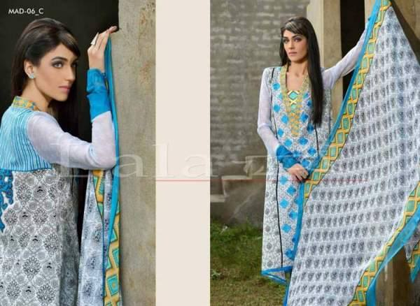 La Femme Kurtis By Lala Textiles Spring Summer Dresses Collection 2015-2016 (22)